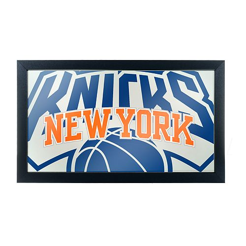 New York Knicks Logo Framed Mirror