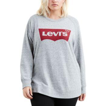 Plus Size Levi's® Batwing Logo Sweatshirt
