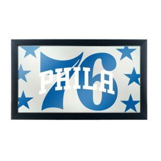 Philadelphia 76ers Logo Framed Mirror