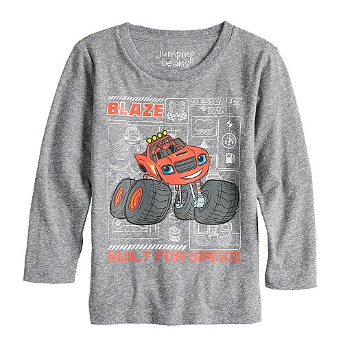 "Toddler Boy Jumping Beans® Blaze & The Monster Machines ""Built For Speed"" Graphic Tee"