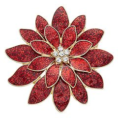 Poinsettia Pin