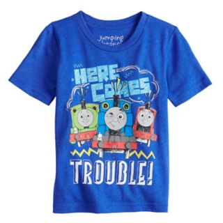 "Toddler Boy Jumping Beans® Thomas & Friends ""Here Comes Trouble"" Percy, Thomas & James Graphic Tee"