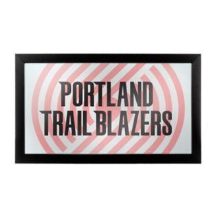 Portland Trail Blazers Logo Framed Mirror