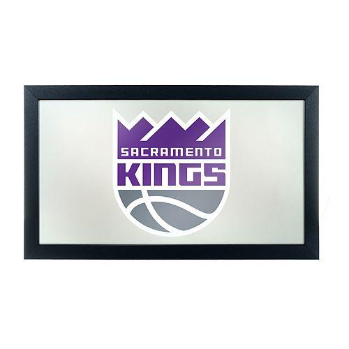 Sacramento Kings Logo Framed Mirror