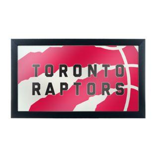 Toronto Raptors Logo Framed Mirror