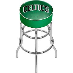 Boston Celtics Padded Swivel Bar Stool