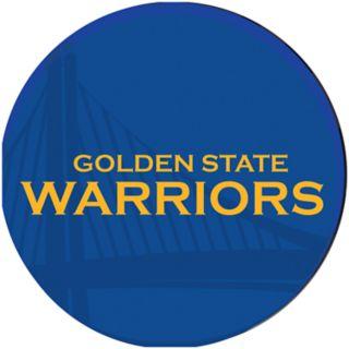 Golden State Warriors Padded Swivel Bar Stool