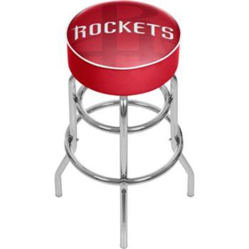 Houston Rockets Padded Swivel Bar Stool