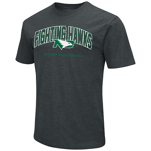 Men's North Dakota Fighting Hawks Wordmark Tee