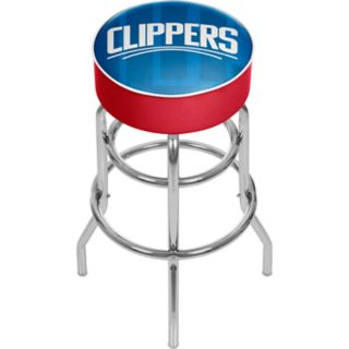 Los Angeles Clippers Padded Swivel Bar Stool