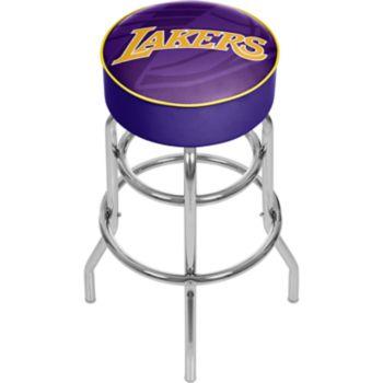 Los Angeles Lakers Padded Swivel Bar Stool