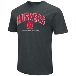 Men's Nebraska Cornhuskers Wordmark Tee