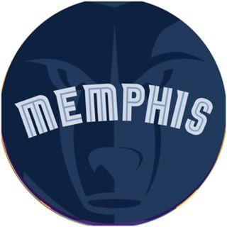 Memphis Grizzlies Padded Swivel Bar Stool