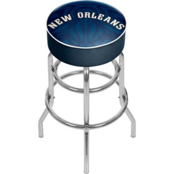 New Orleans Pelicans Padded Swivel Bar Stool