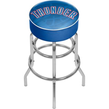 Oklahoma City Thunder Padded Swivel Bar Stool