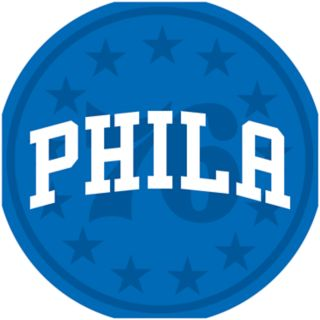 Philadelphia 76ers Padded Swivel Bar Stool