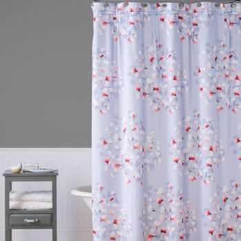 Saturday Knight, Ltd. Lillian Floral Toss Shower Curtain