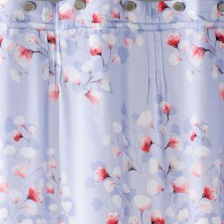 Saturday Knight, Ltd. Lillian Floral Toss Shower Curtain