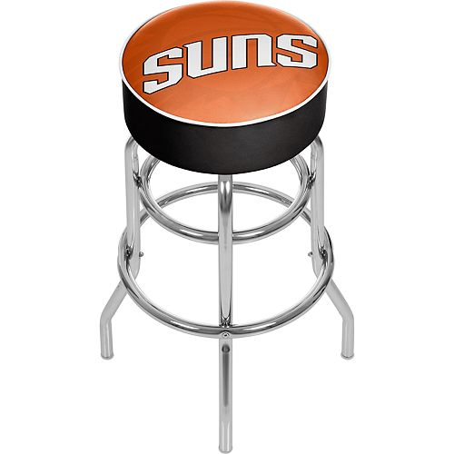Phoenix Suns Padded Swivel Bar Stool