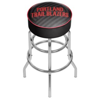 Portland Trail Blazers Padded Swivel Bar Stool