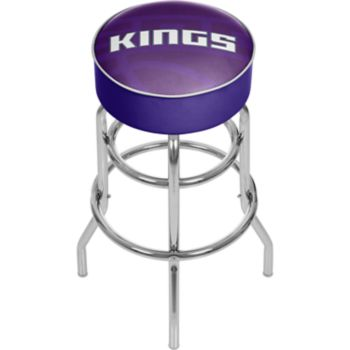 Sacramento Kings Padded Swivel Bar Stool
