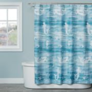 Saturday Knight, Ltd. Mermaid Shore Shower Curtain