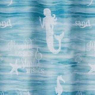 Saturday Knight, Ltd. Mermaid Shore Shower Curtain