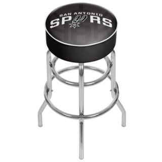 San Antonio Spurs Padded Swivel Bar Stool