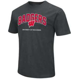 Men's Wisconsin Badgers Wordmark Tee