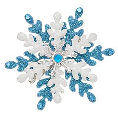 Double Snowflake Pin