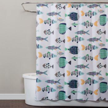 Saturday Knight, Ltd. Wave Runner Shower Curtain