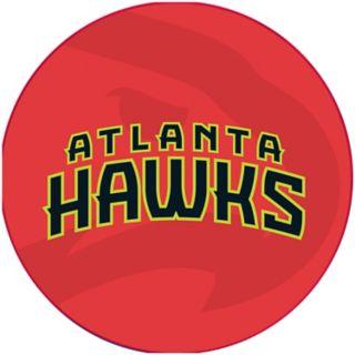 Atlanta Hawks Padded Swivel Bar Stool with Back