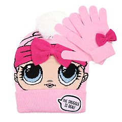 Girls 4-6x L.O.L. Surprise! Hat & Gloves Set