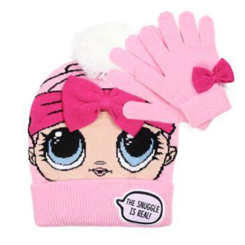 Girls 4-6x L.O.L. Surprise! Hat & Gloves Set