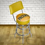 Indiana Pacers Padded Swivel Bar Stool with Back