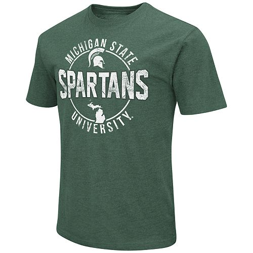 Men's Michigan State Spartans Game Day Tee