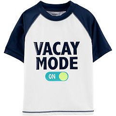 Boys 4-8 Carter's Vacay Mode Rashguard