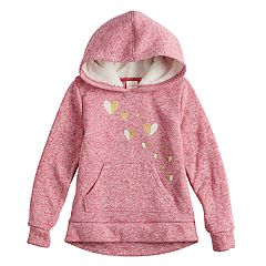 Girls 4-12 Jumping Beans® Embroidered Fleece Hoodie