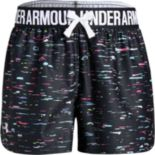 Girls Under Armour Girls' Play Up Print Short