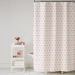Saturday Knight, Ltd. Colorful Dot Shower Curtain