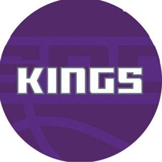 Sacramento Kings Padded Swivel Bar Stool with Back