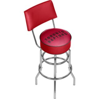Toronto Raptors Padded Swivel Bar Stool with Back