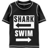 Boys 4-8 Carter's Shark Swim Rashguard