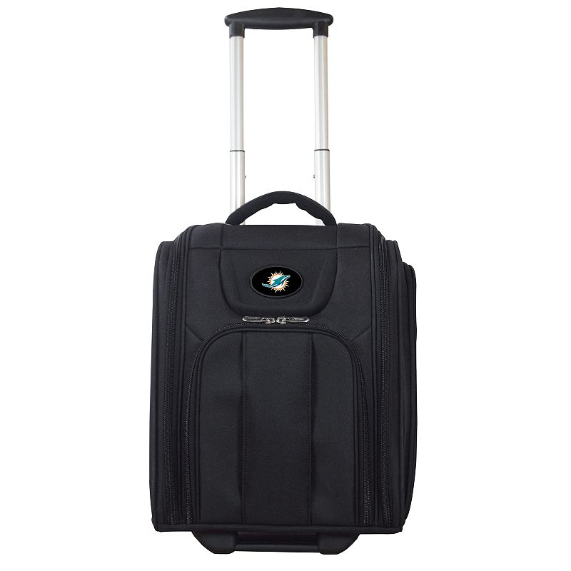 Miami Dolphins Wheeled Briefcase Luggage, Oxford