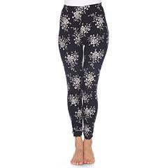 Women's White Mark Printed Leggings