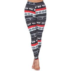 Women's White Mark Printed Leggings