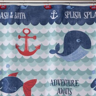 Saturday Knight, Ltd. Set Sail Shower Curtain