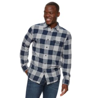 Men's SONOMA Goods for Life? Slim-Fit Flannel Button-Down Shirt