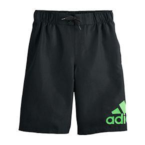 Boys 8-20 adidas Logo Mania Board Shorts