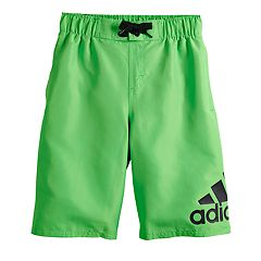 Boys 8-20 adidas Logo Mania Board Shorts